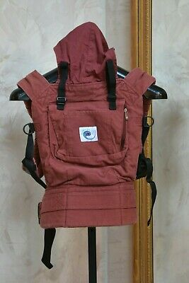 Ergo Baby Earth Tone Brown Ergobaby Baby Carrier Gently Used