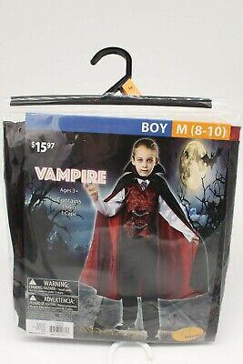 Boys Vampire Costume (NIP New Boys Vampire Costume Medium)