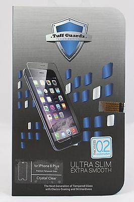 Tuff Guardz Best New Premium Tempered Glass Screen Protector iPhone 6 Plus