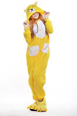 sqlszt Women men Adult Unisex Kigurumi Fox Onesie0 Pajamas Cosplay Costume