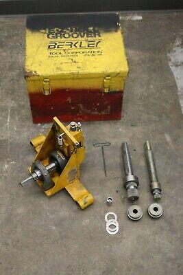 Berkley Bt-rg-100 Portable Roll Groover 2 To 6 Fits Ridgid 300 Power Threader