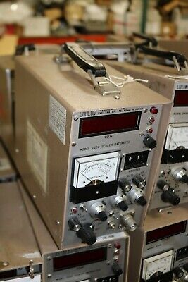 Ludlum Measurement Model 2200 Scaler Geiger Counter Survey Meter