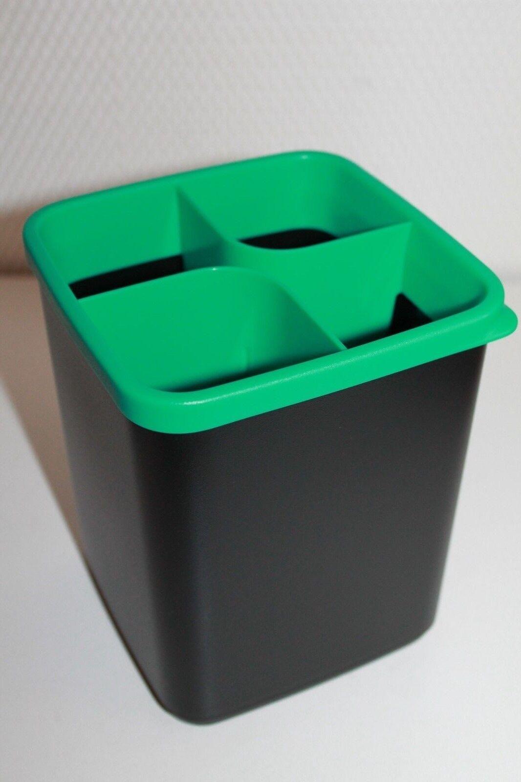 Neu+OVP !! Griffbereit Ordnungsecke,hellgrün-schwarz,Schnäppchen Tupperware