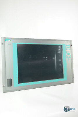 Siemens 6av7872-0bc20-1ac0 Simatic Panel Pc 677b Ac 15 Touch Panel Fw 07