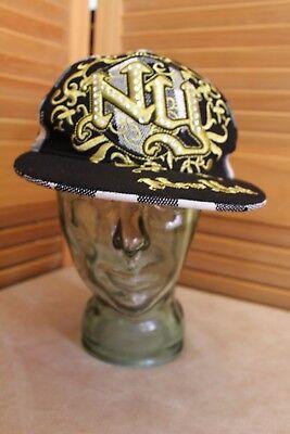 New York Baseball Cap Size Medium Hat KB Ethos Headwear Free Post