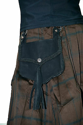 LIP SERVICE STEAMPUNK VEGI LEATHER ROCKER IRISH SCOTISH GOTHIC PANTS KILT SKIRT Clothing, Shoes & Accessories