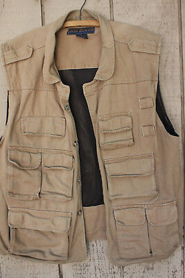 Mens Rio Bravo Never Used Multi Pocket Hiking And Or Fishing Vest