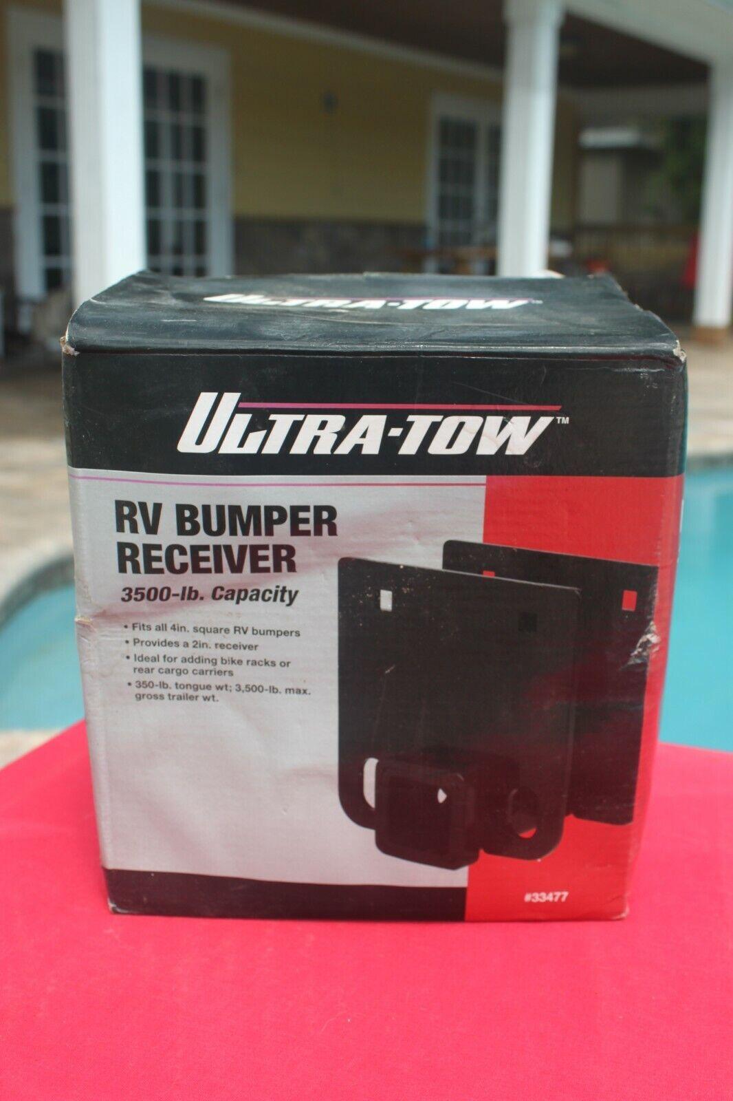 Ultra-Tow RV Bumper Receiver - Class II, 3500-Lb. GTW, 2Inch
