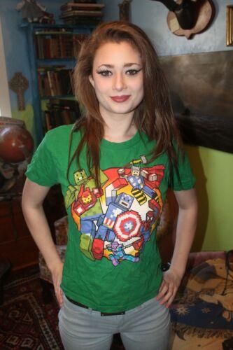 Marvel Super Heroes XL 14/16 T-Shirt 100% Cotton Green