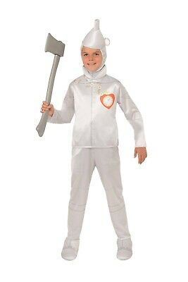 Wizard Of Oz Tin Man Costumes (New The Wizard of Oz Tin Man Child Costume Large)