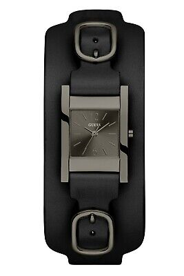 Guess Womens Analogue Quartz Watch with Leather Strap U1137l5