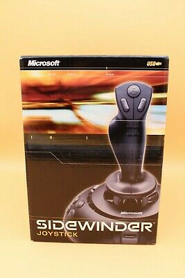 NEW SEALED Microsoft SideWinder Joystick Game Controller USB Plug-n-Play
