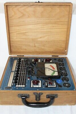 Emc Model 205 Tube Tester Electronic Measurements Corporation Tested