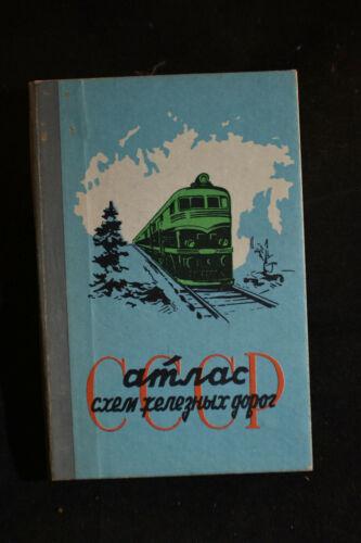 1963 Russian Railroad Timetable [Cyrillic]