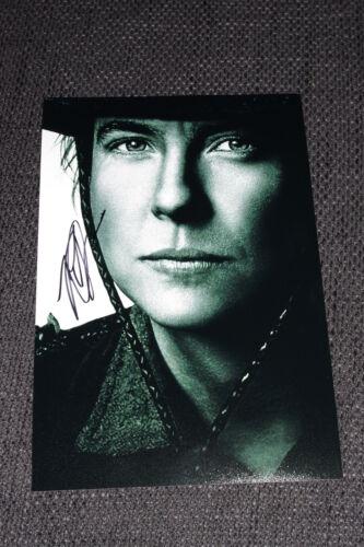 ROBIN WEIGERT signed Autogramm auf 20x30 cm Bild InPerson LOOK