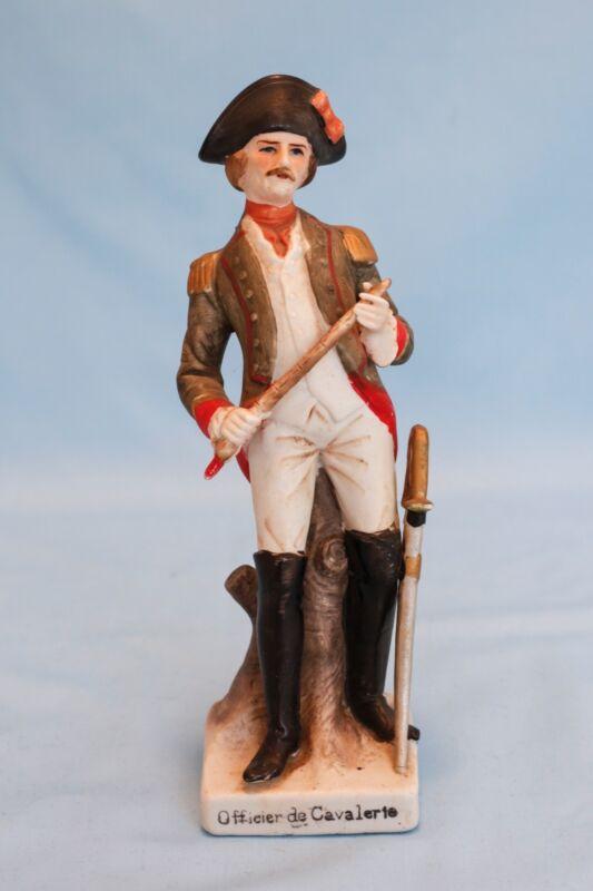 Vintage Porcelain American Revolution Soldier Figure