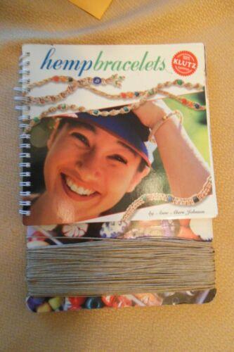 NEW HEMPBRACELETS BOOK BY ANNE AKERS JOHNSON FREE SHIPPING