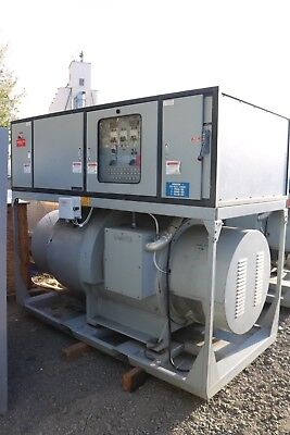 Kato 250kw 400 Hz Synchronous Motor Generator Electric Genset 400 Hp