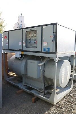 Kato 250kw 400 Hz Synchronous Motor Generator Electric Genset 400 Hp