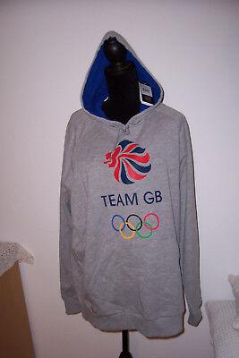 ADIDAS TEAM GB XL adidas Team GB Logo Mens Hoody Grey sweatshirt Kapuzenpullover Team Logo Hoody