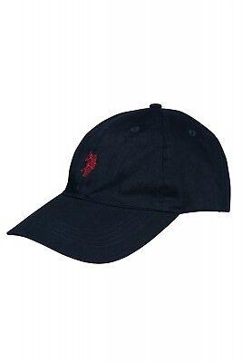 U.S. POLO ASSN. Cap Navy Mütze Basecap Cappy Sommer Blau Classic Baumwolle