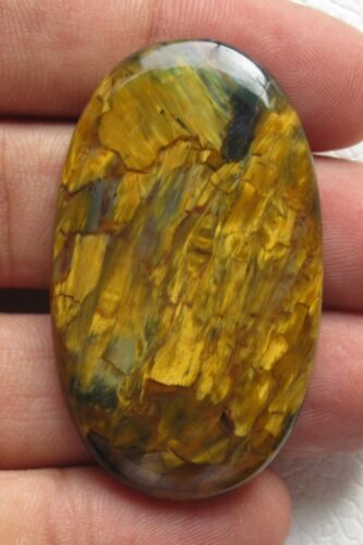 pietersite cabochon oval halloween gift natural loose gemstone 73.10 ct E 4711