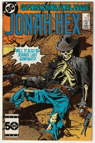 Jonah Hex #92 Scarce Final Issue of Series 1985 VF/NM