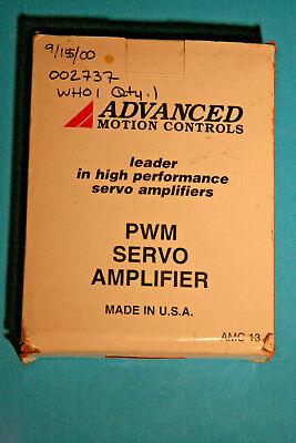 Advanced Motion Controls Sinusoidal Brushless Servo Amplifier Sr30a40c-st2