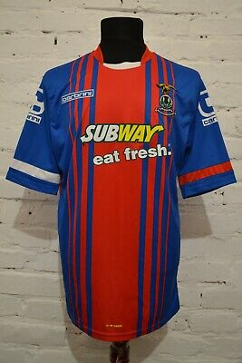 INVERNESS CALEDONIAN THISTLE Football Shirt Home 2015/16 Soccer Jersey Trikot L image