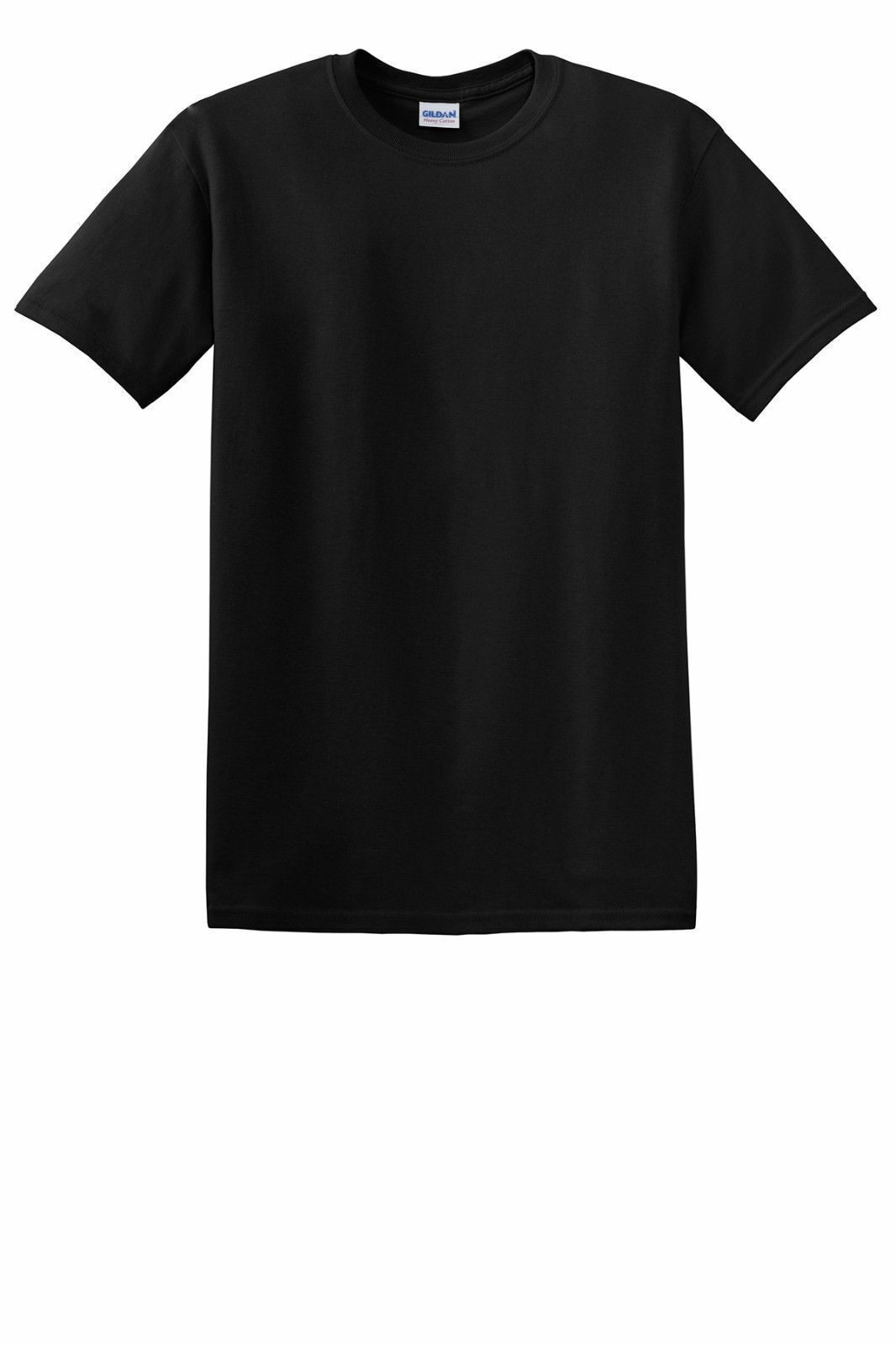 2 NEW IN THE BAG GILDAN HEAVY COTTON MENS SHORT SLEEVE T SHIRTS WHITE OR BLACK Clothing, Shoes & Accessories