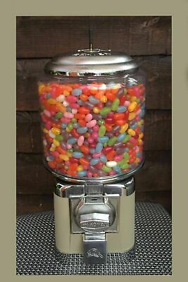 BEAVER VINTAGE RETRO SWEET DISPENSING GUMBALL VENDING MACHINE 20P BABY *6