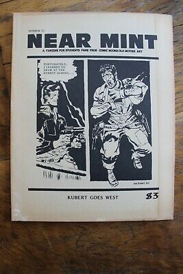 Near Mint Fanzine #21, May, 1982 featuring Rocketeer art