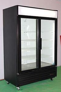 TRUE GDM 49 & 49F TWO GLASS DOOR COOLERS & FREEZERS