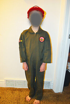 Kids Flight Suit (Andys Airplanes Kids Aviator Flight Suit Anytime wear Size XL ( 18 ) NEW)