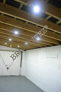 SummerHouse Shed Stable Outbuilding Solar Panel Lighting Kit LED Garage 40W