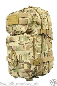 Kombat BTP Small Assault back pack / daysack 28 Litre compliments MTP / Multicam