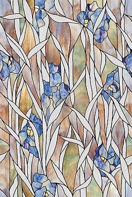 Iris Window (Artscape Iris Garden Window Film (24 In. x 36 In.))