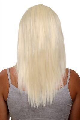 Clip-in Haarteil 5 Klammern 3/4 Perücke Platinblond Blond - Platin Blonde Perücke