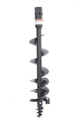 Earth-ogre Skid Steer Light Duty Dirt Auger Bit 9 Diameter 2 Hex Drive