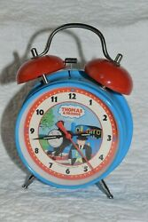 Thomas and Friends Thomas The Train Twin Bell Alarm Clock Blue Red Working 2001
