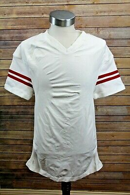 2012 Adidas Wisconsin Badgers Football Team Issue Jersey Blank 2XL Made Israel image