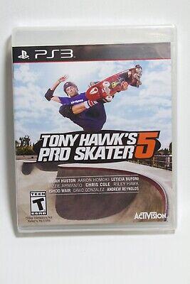 Tony Hawk Pro Skater 5 - Skate boarding Playstation 3 PS3 *Brand New*