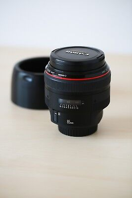 Canon EF 85mm f/1.2 L II AF USM Lens (Professionally Owned & Serviced) segunda mano  Embacar hacia Mexico