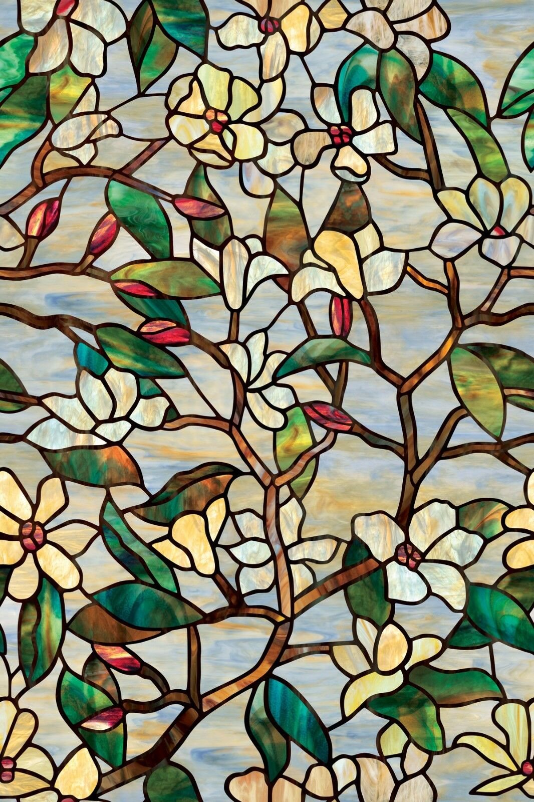 Artscape 24 X 36 Summer Magnolia Window Film