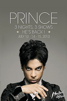 WOW...Prince at Montreux Jazz Festival 2013  12x18