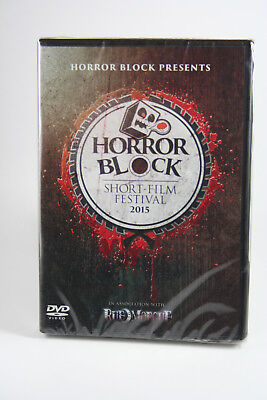 Horror Block Short Film Festival 2015 Dvd Horror Brand New  Scary Short Films