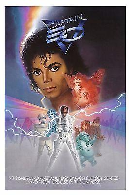 King of POP: Michael Jackson * Captain EO * Movie Poster Circa 1986