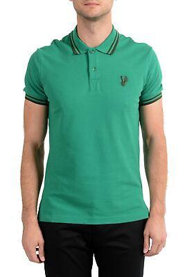 Versace Jeans Men's Green Short Sleeve Polo Shirt