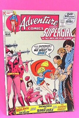 Enchantress Dc Comics (Adventure Comics #417 Supergirl Enchantress Men are Slaves DC Comic Comics)