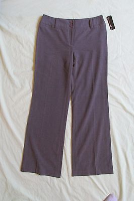 NEUER FRAUEN Agb Grau Anzughose/Hosen Größe 6p 6 Petite